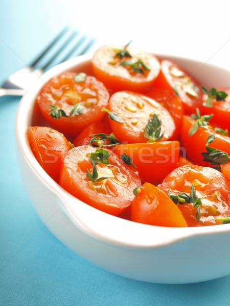 Sałatka puchar żywności kolor Zdjęcia stock © zkruger