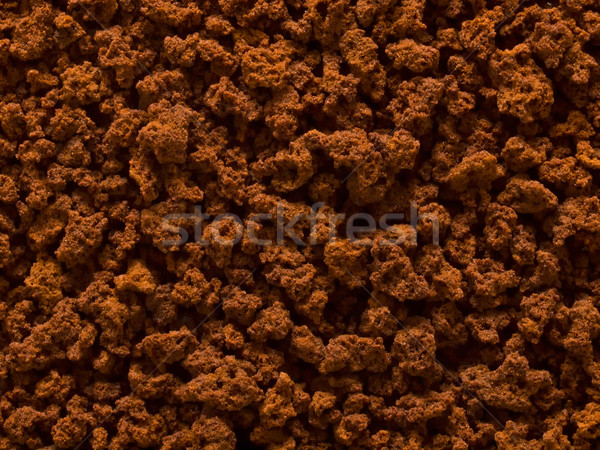 processed coffee granules Stock photo © zkruger