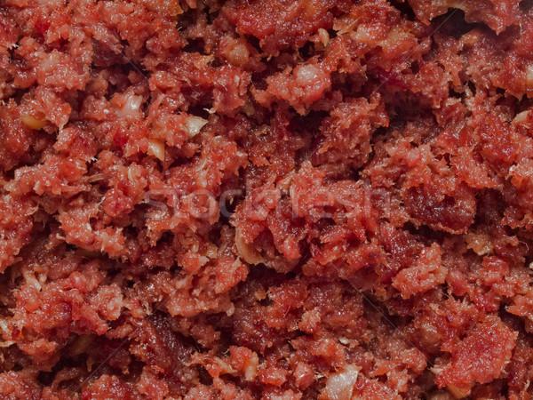 minced corned beef Stock photo © zkruger