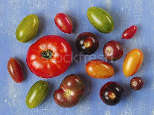 rustic heirloom tomato Stock photo © zkruger