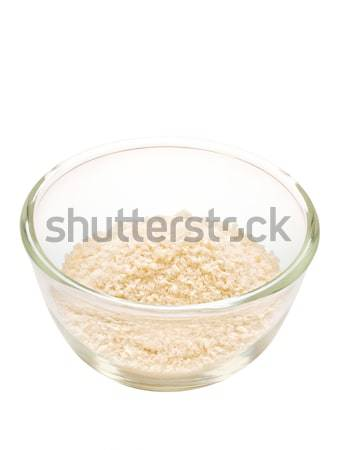 grated parmesan cheese isolated Stock photo © zkruger