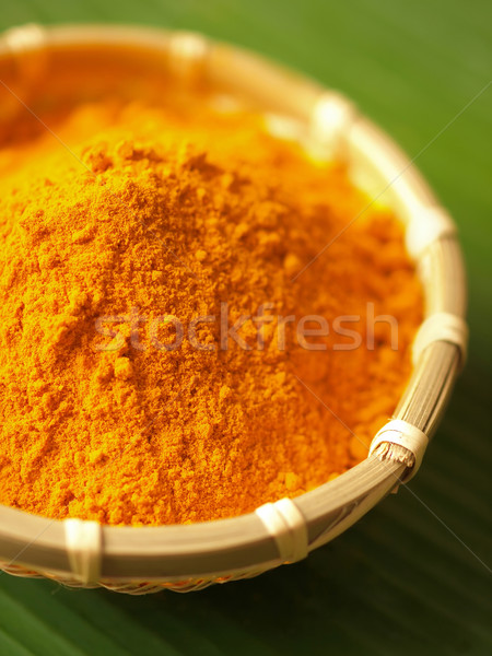 turmeric powder Stock photo © zkruger