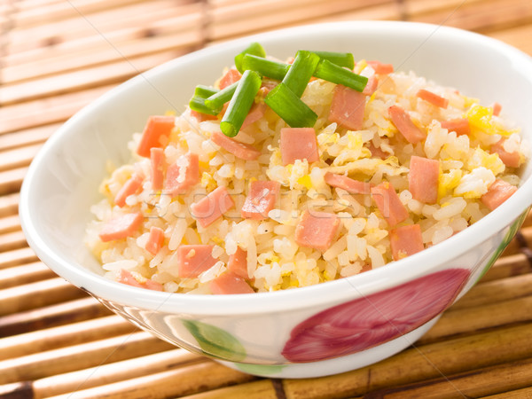 chinese fried rice Stock photo © zkruger