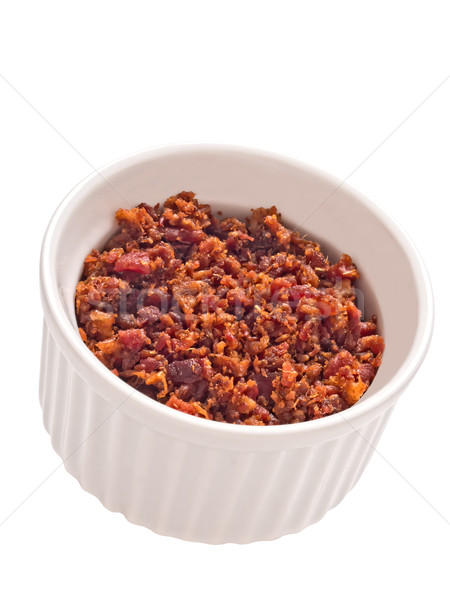 bacon bits isolated Stock photo © zkruger