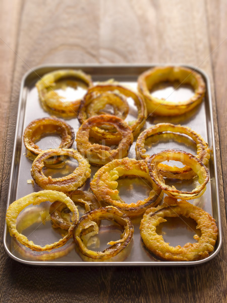 onion rings Stock photo © zkruger