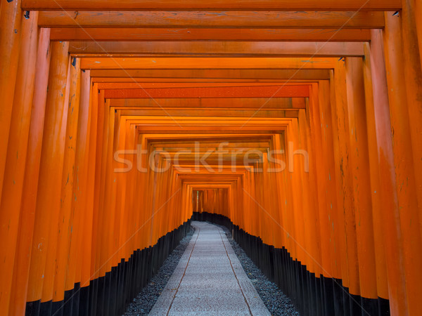 Fushimi Inari Shrine in Kyoto Stock photo © zkruger