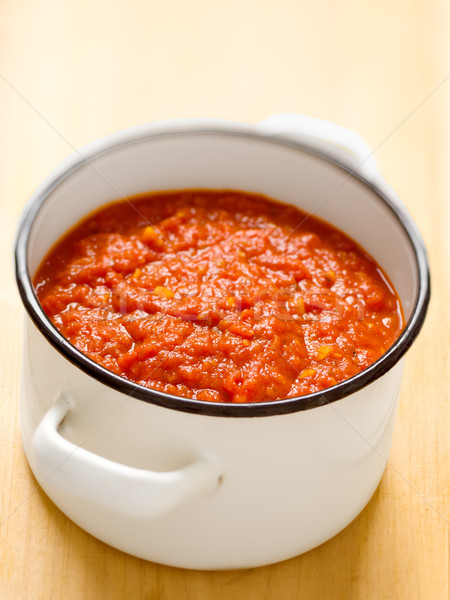 homemade italian tomato sauce Stock photo © zkruger