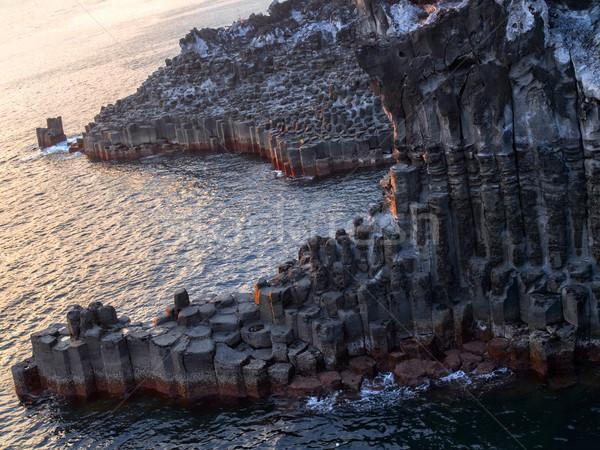 утес пейзаж Южная Корея путешествия каменные Сток-фото © zkruger