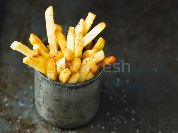 Rustiek gouden vet aardappel Stockfoto © zkruger