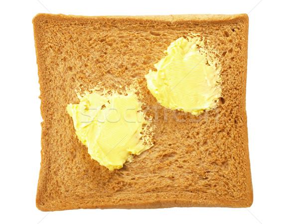 sliced buttered bread Stock photo © zkruger