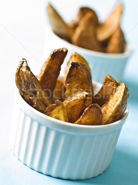 potato wedges Stock photo © zkruger