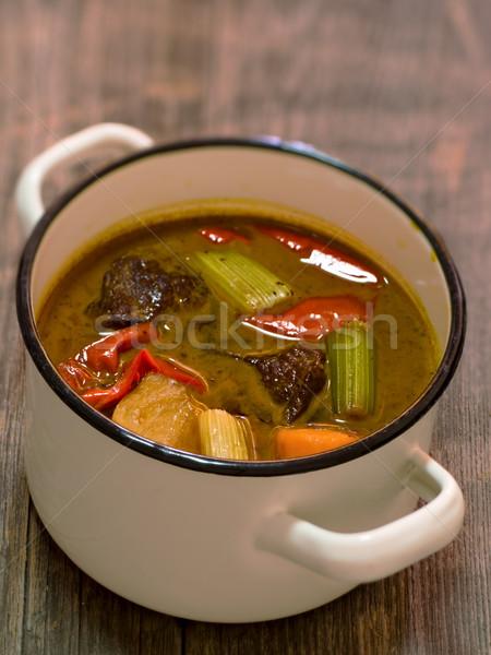 beef goulash Stock photo © zkruger