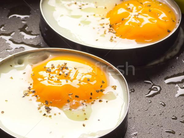 Сток-фото: жареный · яйца · яйцо · куриные