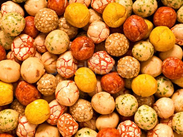 japanese peanut snack Stock photo © zkruger