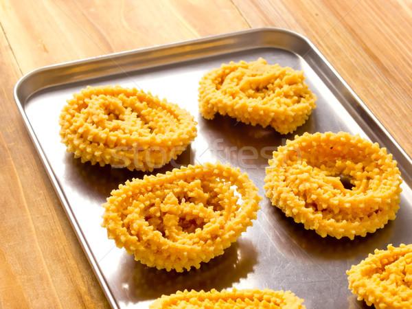 traditional indian snack, muruku Stock photo © zkruger