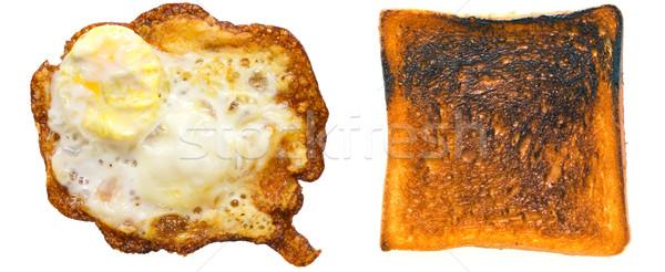 burnt toast Stock photo © zkruger