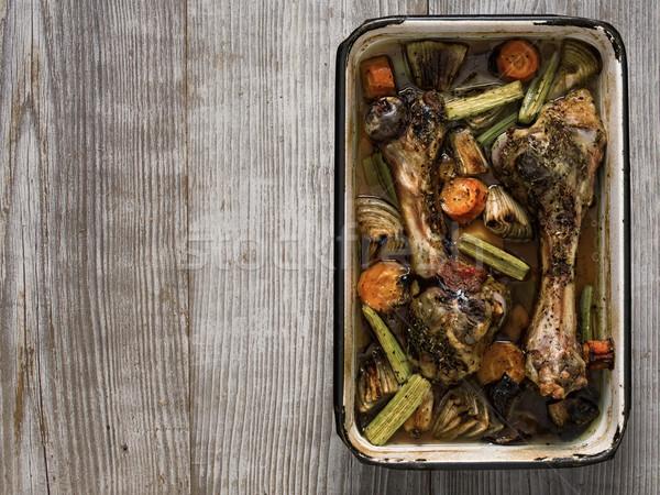 rustic gravy ingredient Stock photo © zkruger
