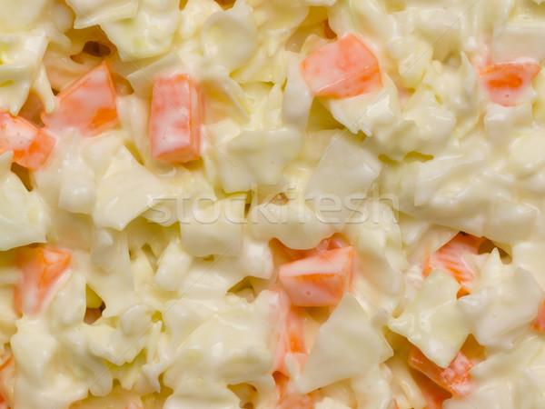 капустный салат Салат продовольствие цвета овощей Сток-фото © zkruger