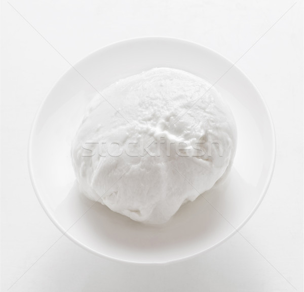 fresh italian buffalo mozzarella cheese Stock photo © zkruger