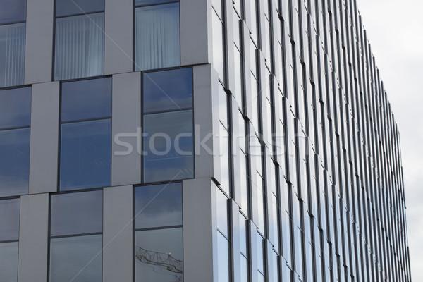 Facade of modern building Stock photo © zolnierek