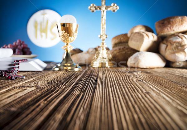 Catholic religion theme.  Stock photo © zolnierek