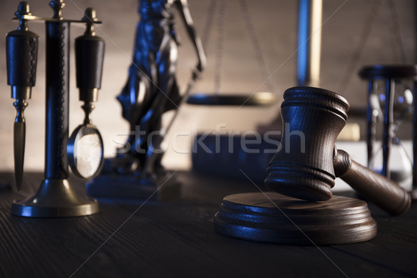 Rechtlichen Recht Rechtsanwälte Büro Maßstab Gerechtigkeit Stock foto © zolnierek