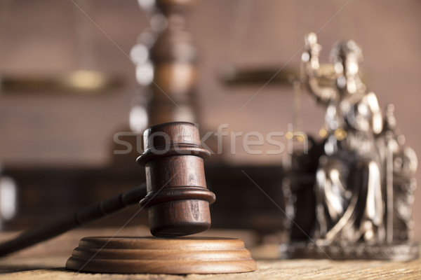 Stock photo: Legal system concept.