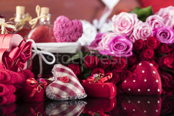Valentine's day concept Stock photo © zolnierek