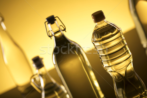 Stock photo: Rapeseed oil concept.
