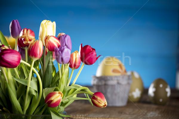Easter theme Stock photo © zolnierek