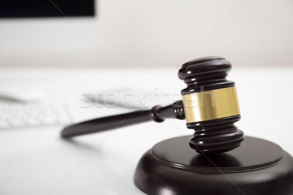 Steuer Recht modernen Business Finanzierung Computer Stock foto © zolnierek