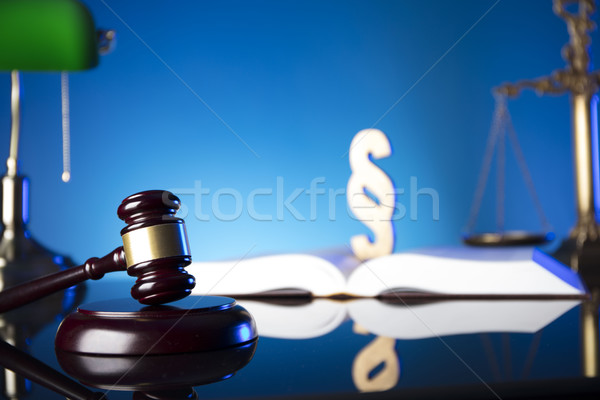 Law theme and concept. Stock photo © zolnierek