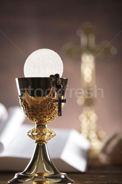 Catholic religion theme Stock photo © zolnierek