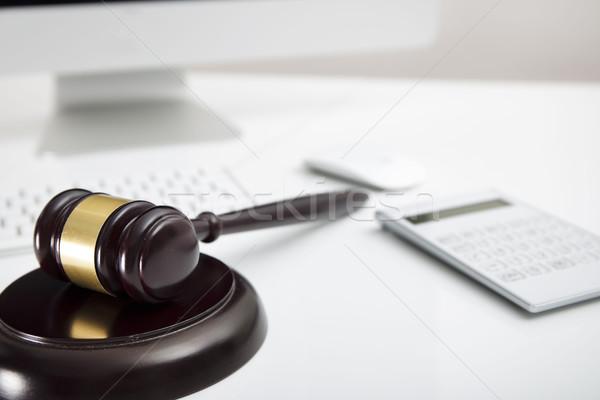 Steuer Recht modernen Business Finanzierung Hintergrund Stock foto © zolnierek