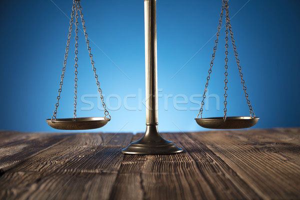 Stock photo: Law theme and concept.
