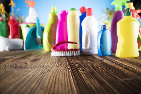 Spring cleanup theme. Stock photo © zolnierek