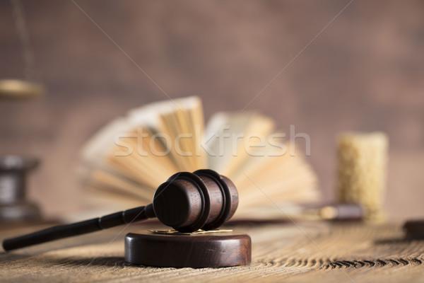 Legal advogado conselheiro escritório consulta livro Foto stock © zolnierek