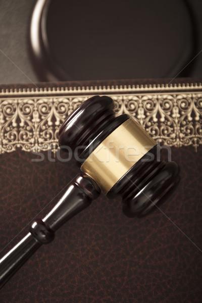 Legal system concept.  Stock photo © zolnierek