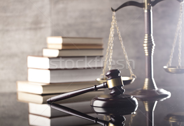 Law and justice theme.  Stock photo © zolnierek