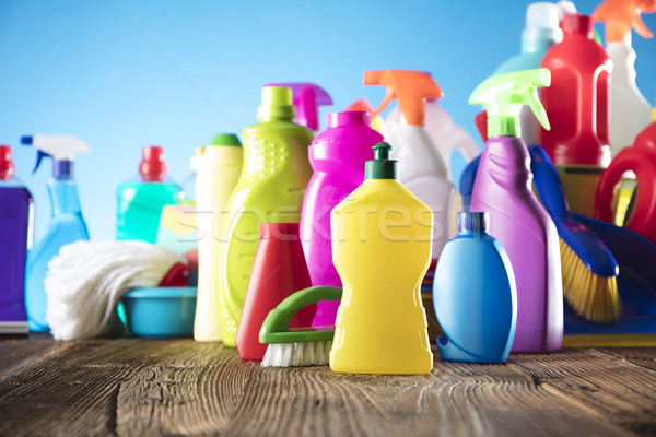 Cleaning products Stock photo © zolnierek