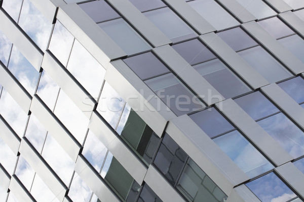 Stok fotoğraf: Modern · bina · mimari · detay · iş · ofis
