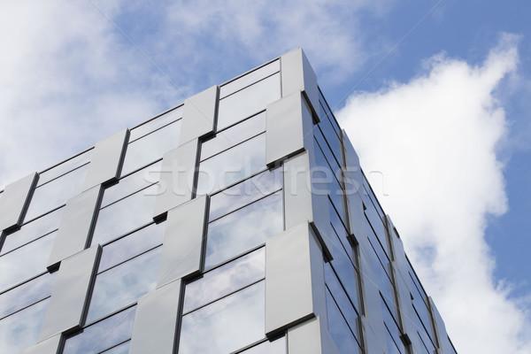 Fachada edifício moderno arquitetura pormenor negócio escritório Foto stock © zolnierek