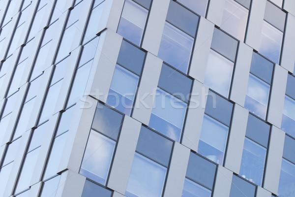 Fasada nowoczesny budynek architektury szczegół działalności biuro Zdjęcia stock © zolnierek