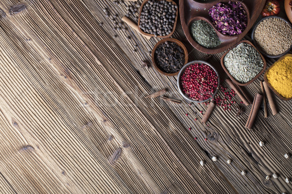 Spices Stock photo © zolnierek