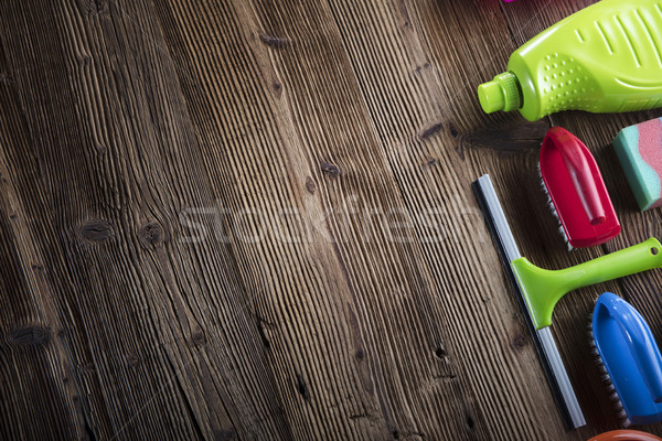 Spring cleanup theme.  Stock photo © zolnierek