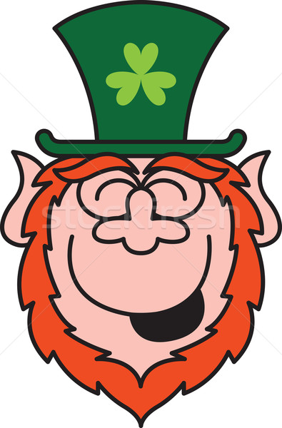 St Paddy's Day Leprechaun Laughing Stock photo © zooco