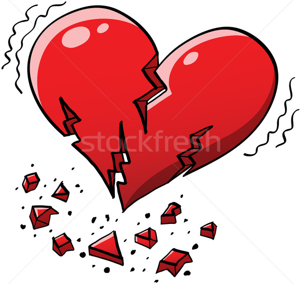 Extreme Heartquake Stock photo © zooco