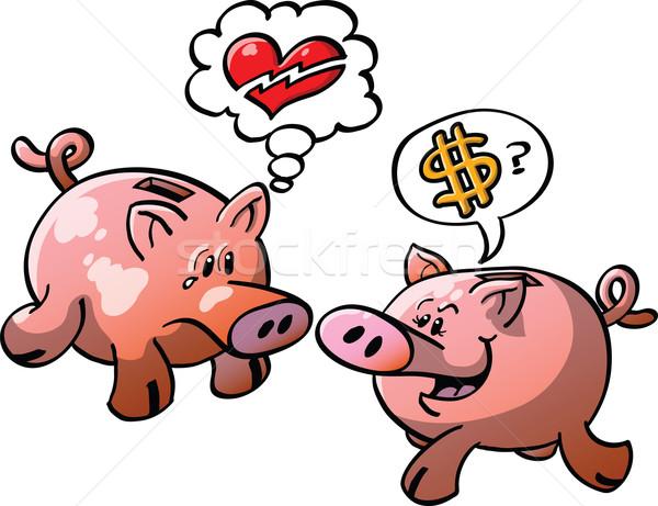Money or Love? Stock photo © zooco