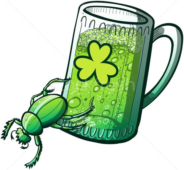 Saint Patrick's Day Beetle Stock photo © zooco