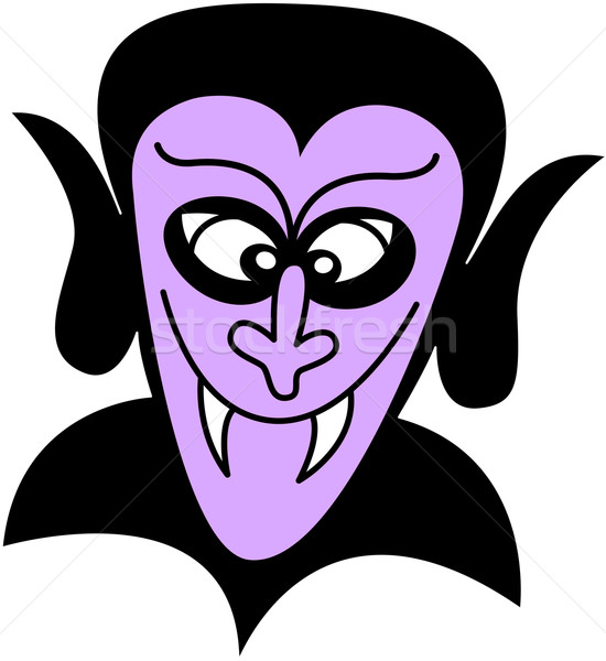 Purple Dracula smiling Stock photo © zooco